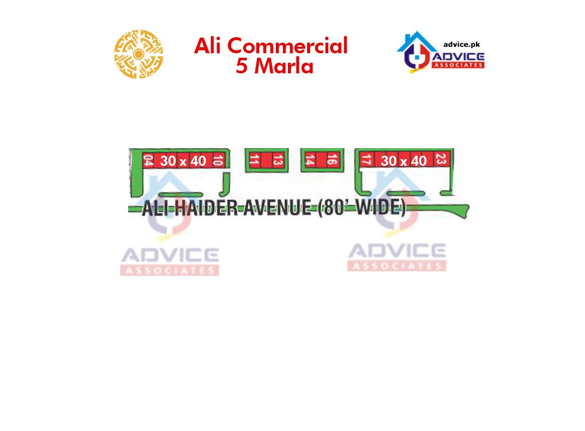 Bahria Town Ali Block Commercial