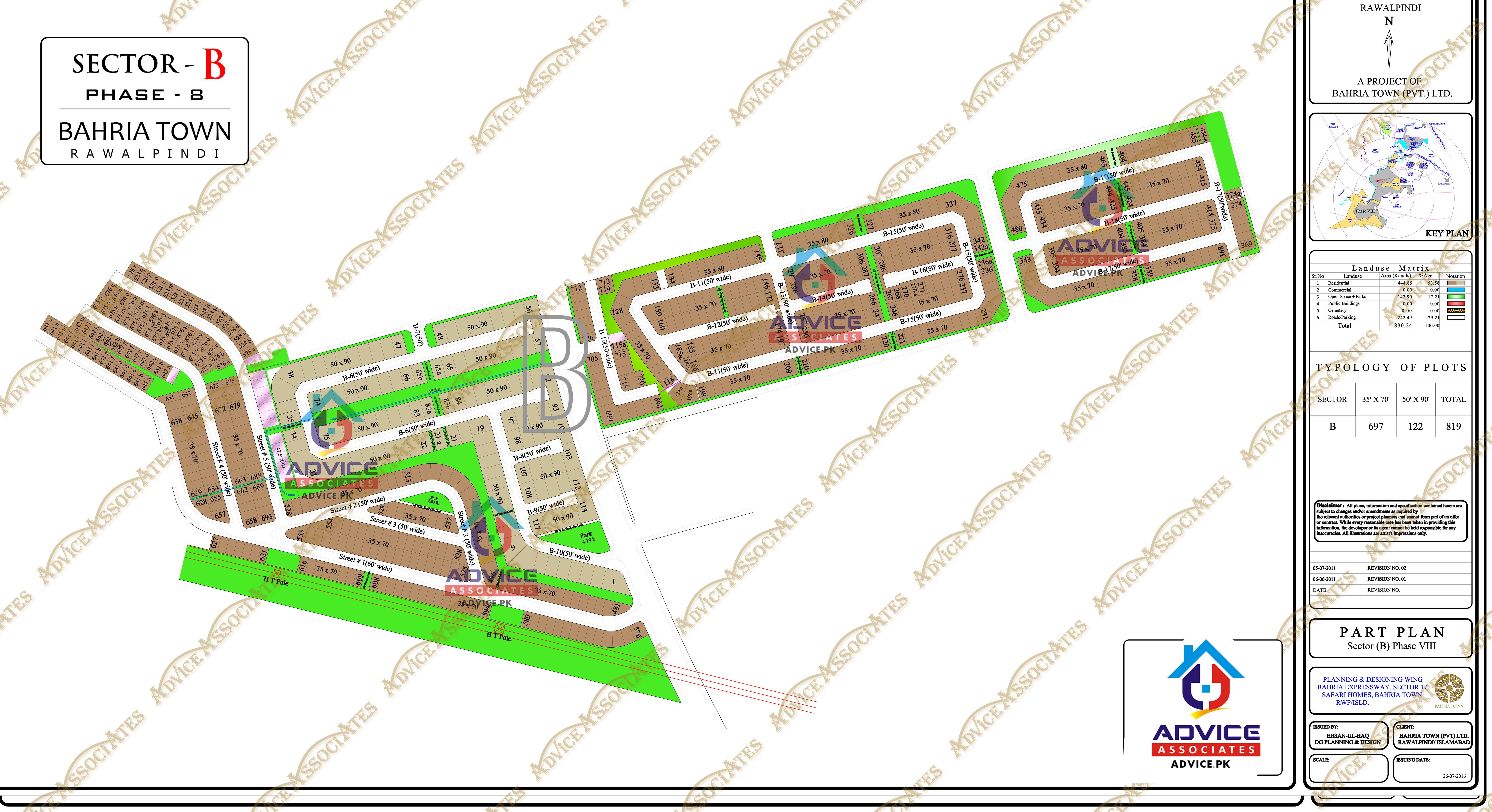 Bahria Town Phase 8 B Block