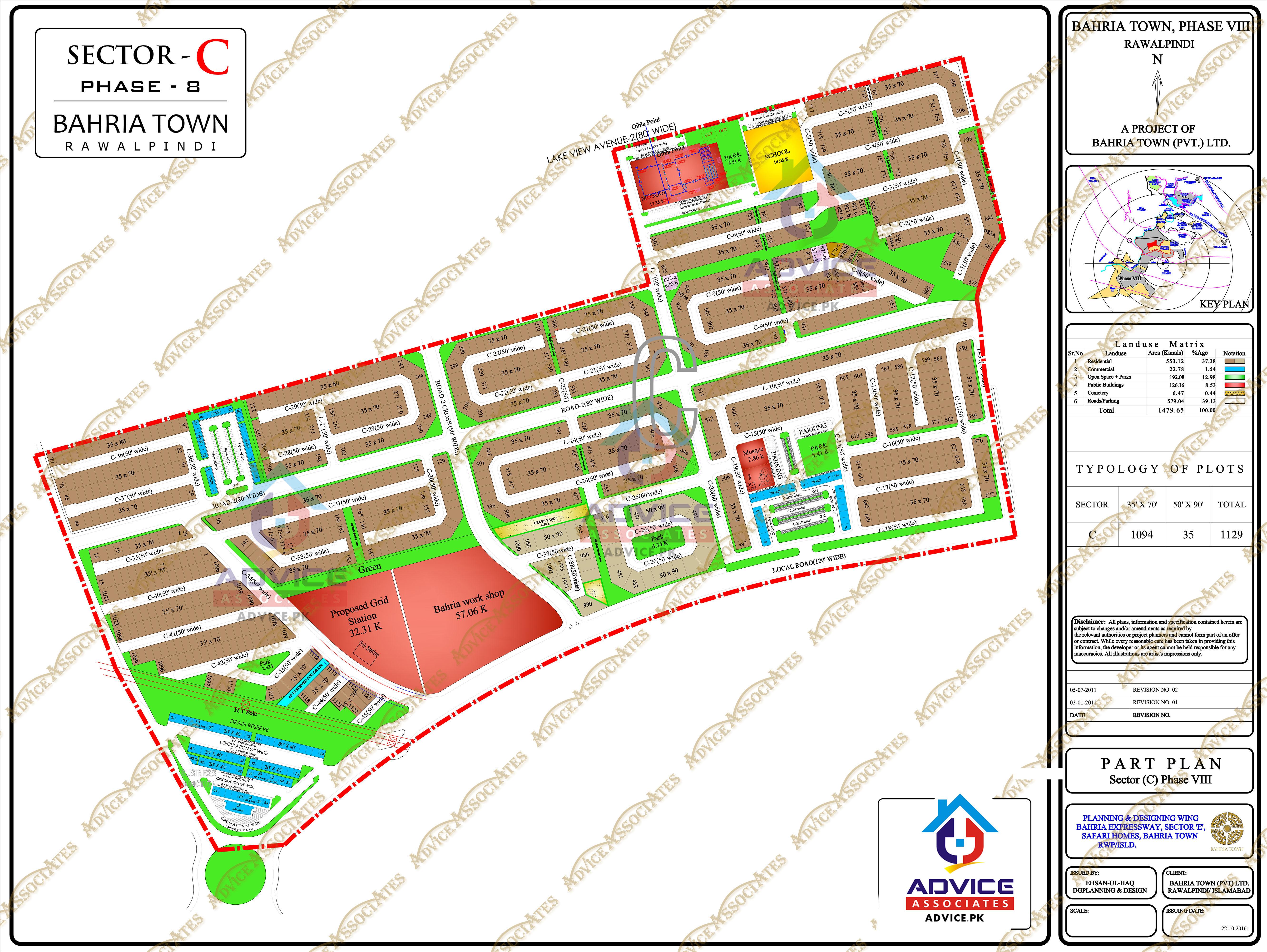 Bahria Town Phase 8 C Block