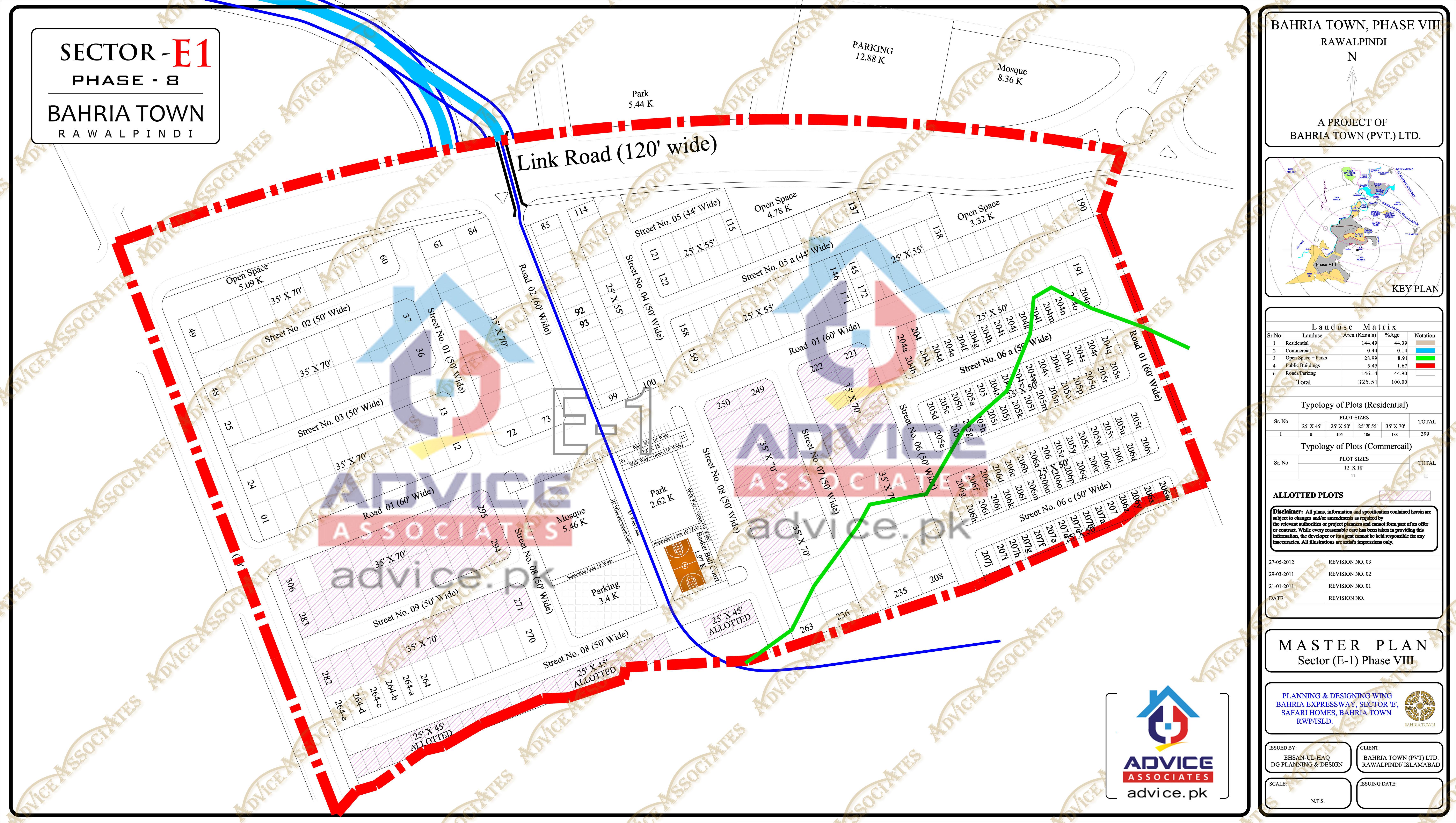 Bahria Town Phase 8 E1 Block