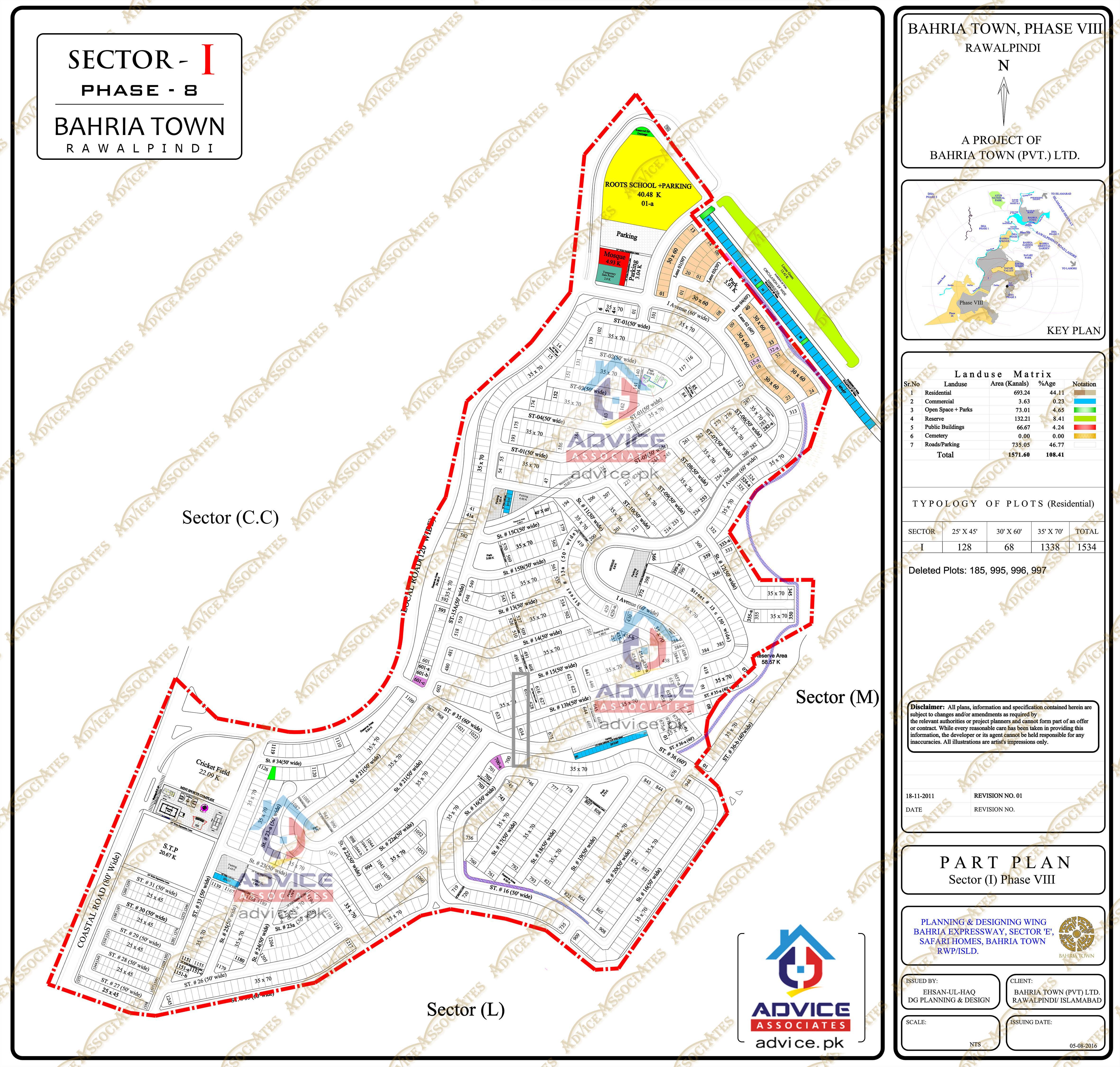 Bahria Town Phase 8 I Block