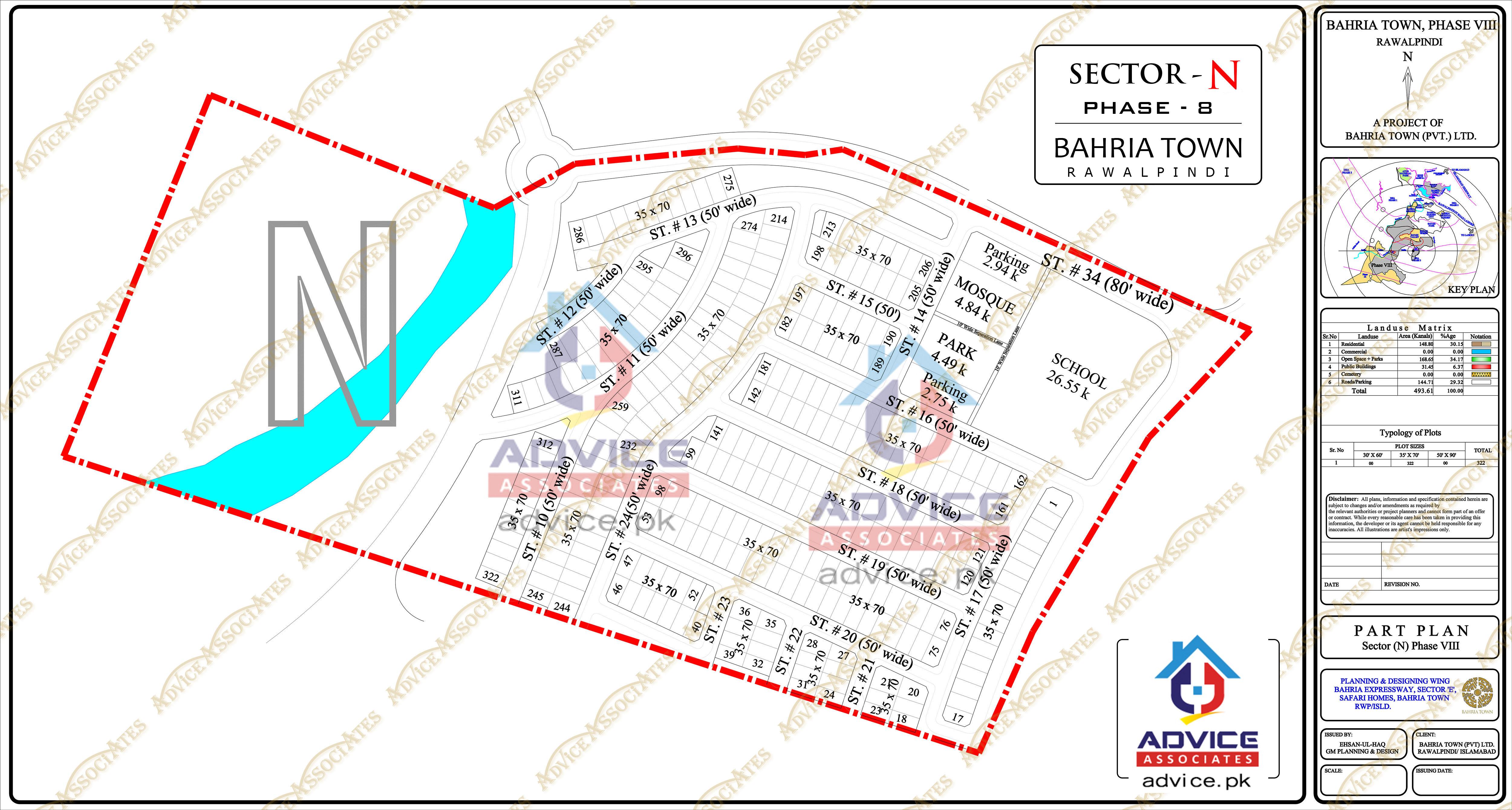 Bahria Town Phase 8 N Block