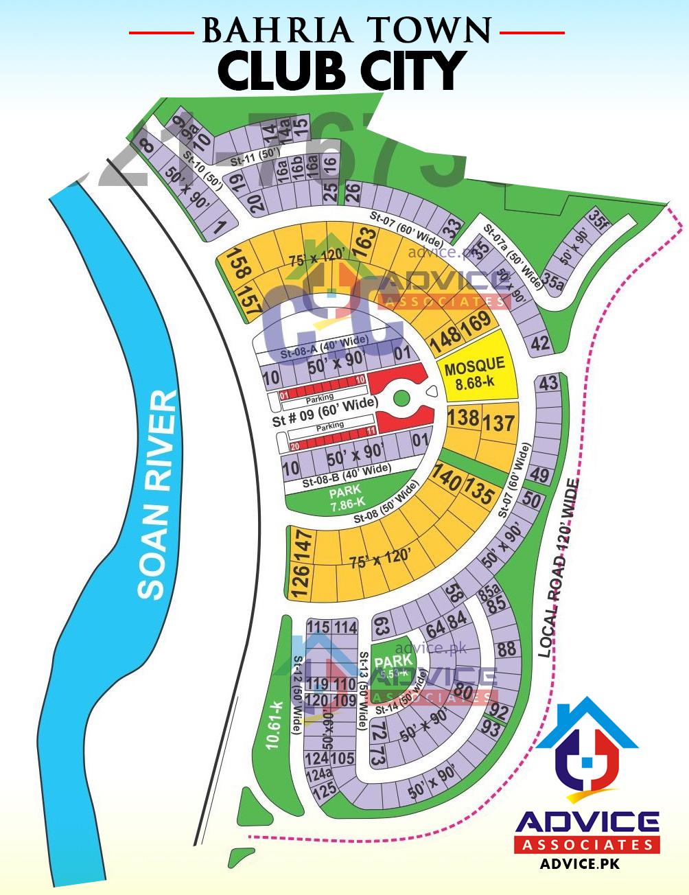 Bahria Town Phase 8 Club City