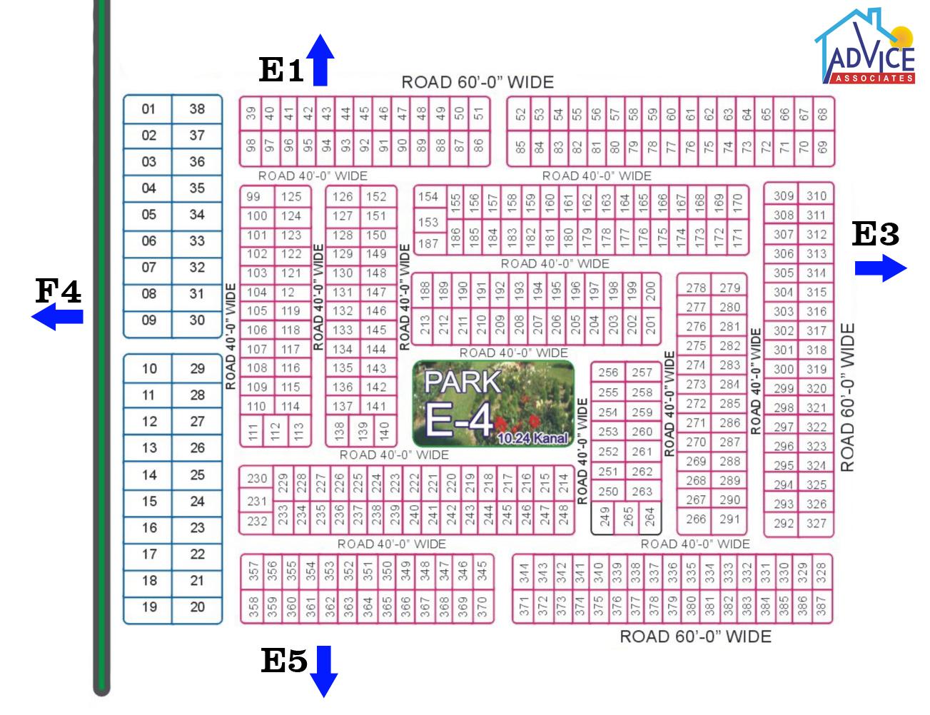FDA CITY Map E 4