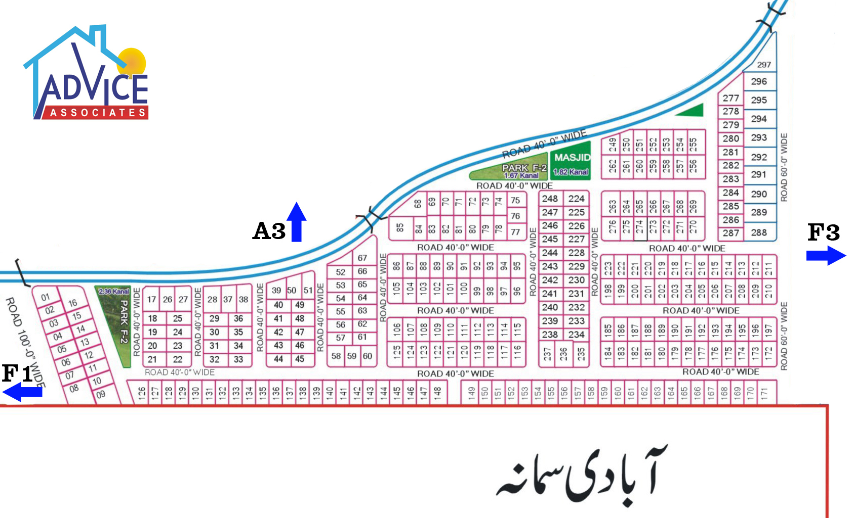 Fda city F2 map
