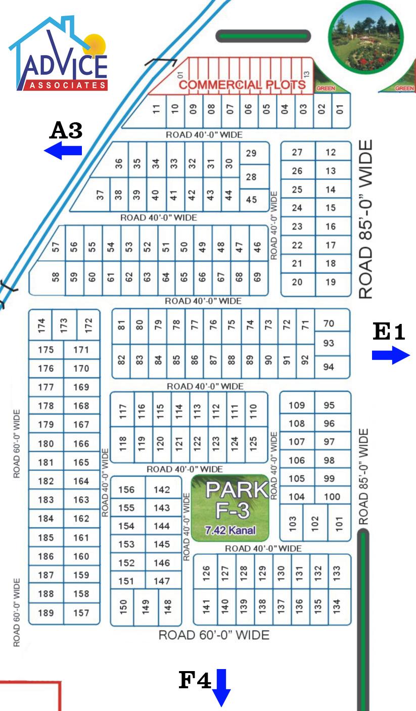 Fda city F3 map
