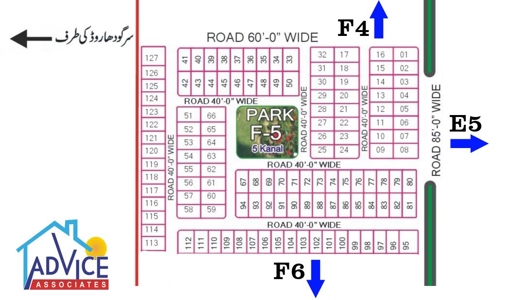 Fda city F5 Map