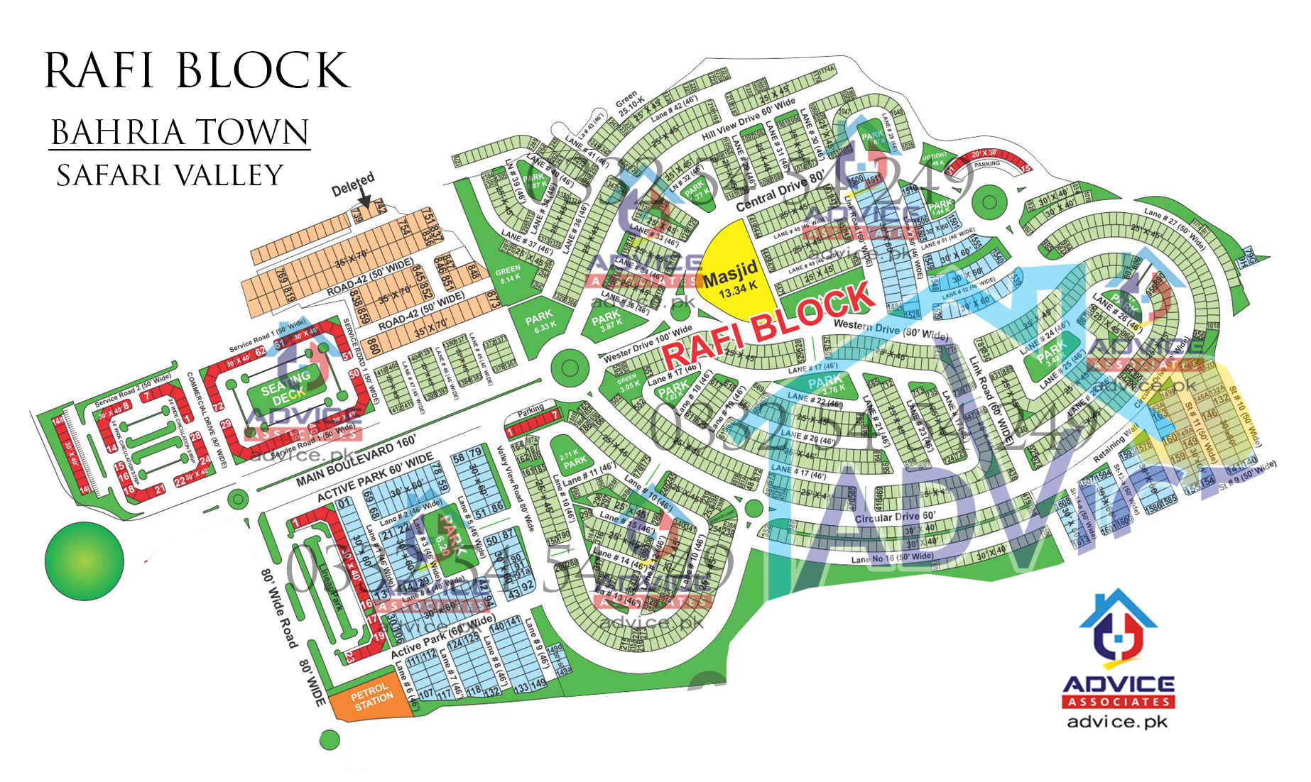 Rafi Block Map