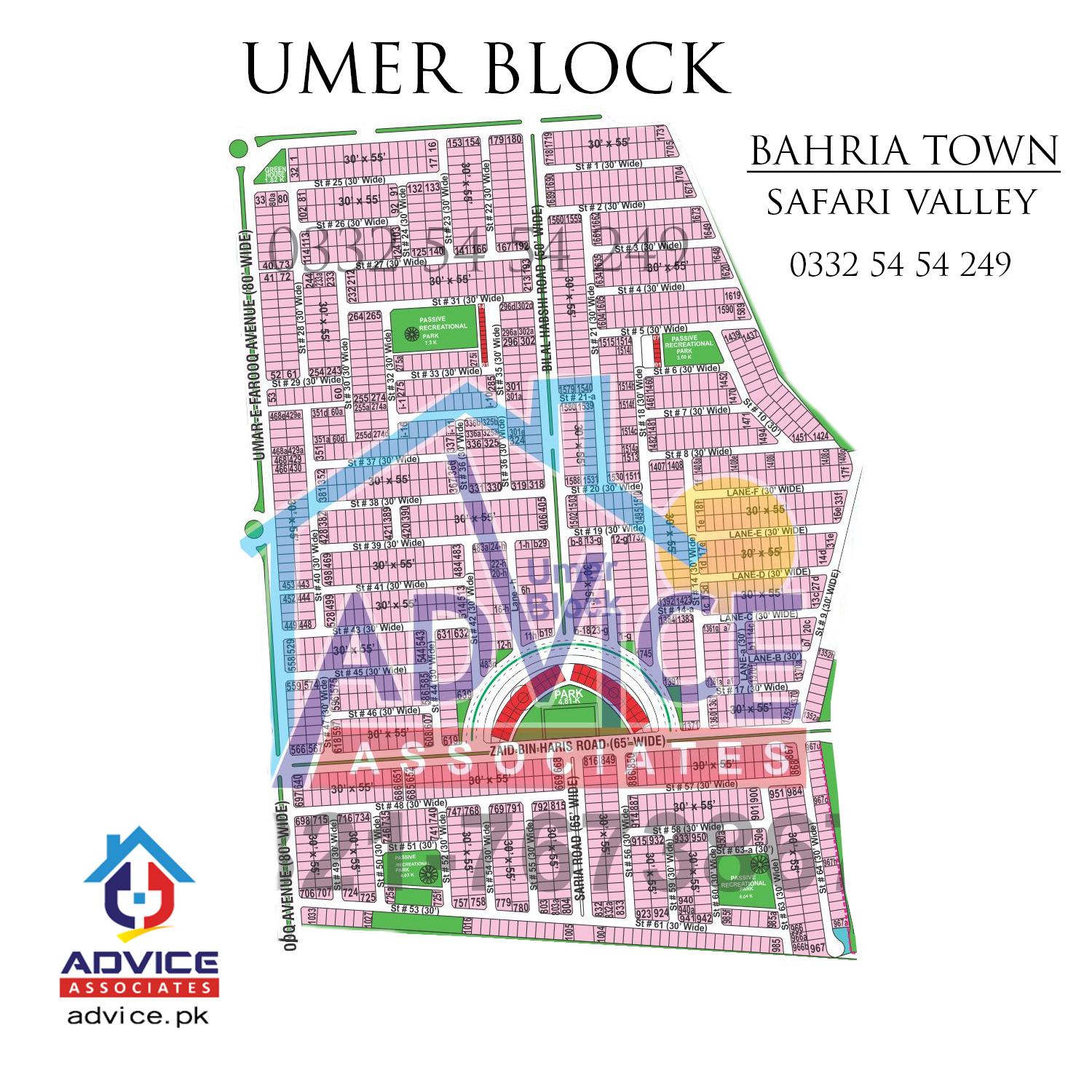 Umer Block Safari Valley