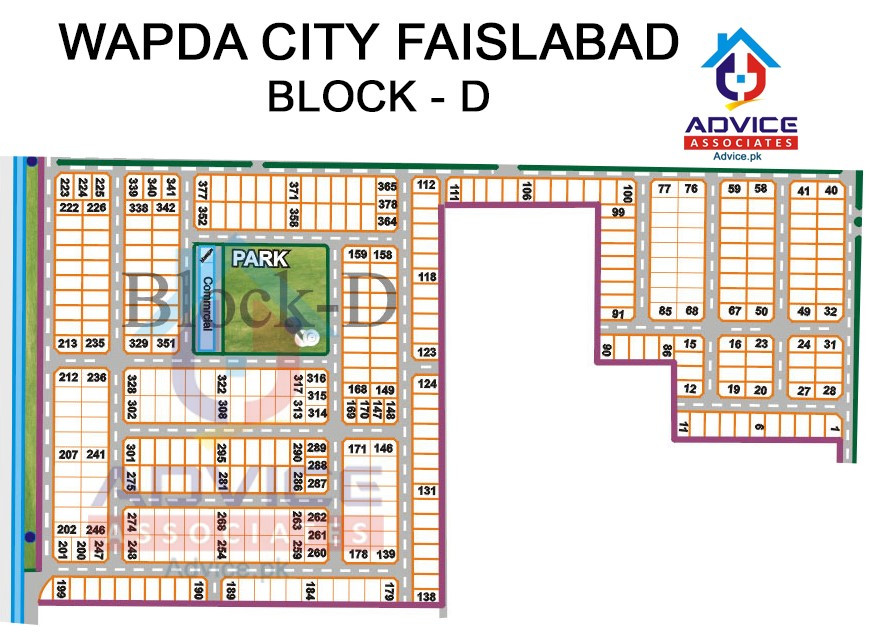 Wapda city Block D