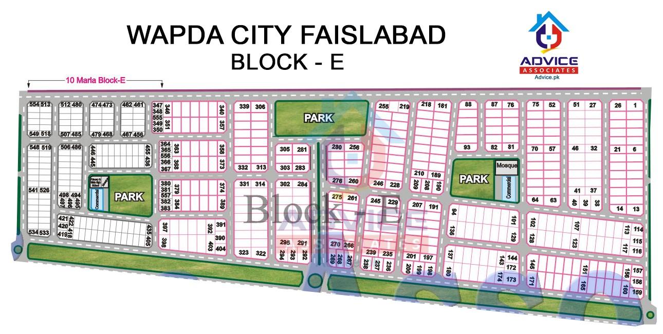 Wapda city Block E