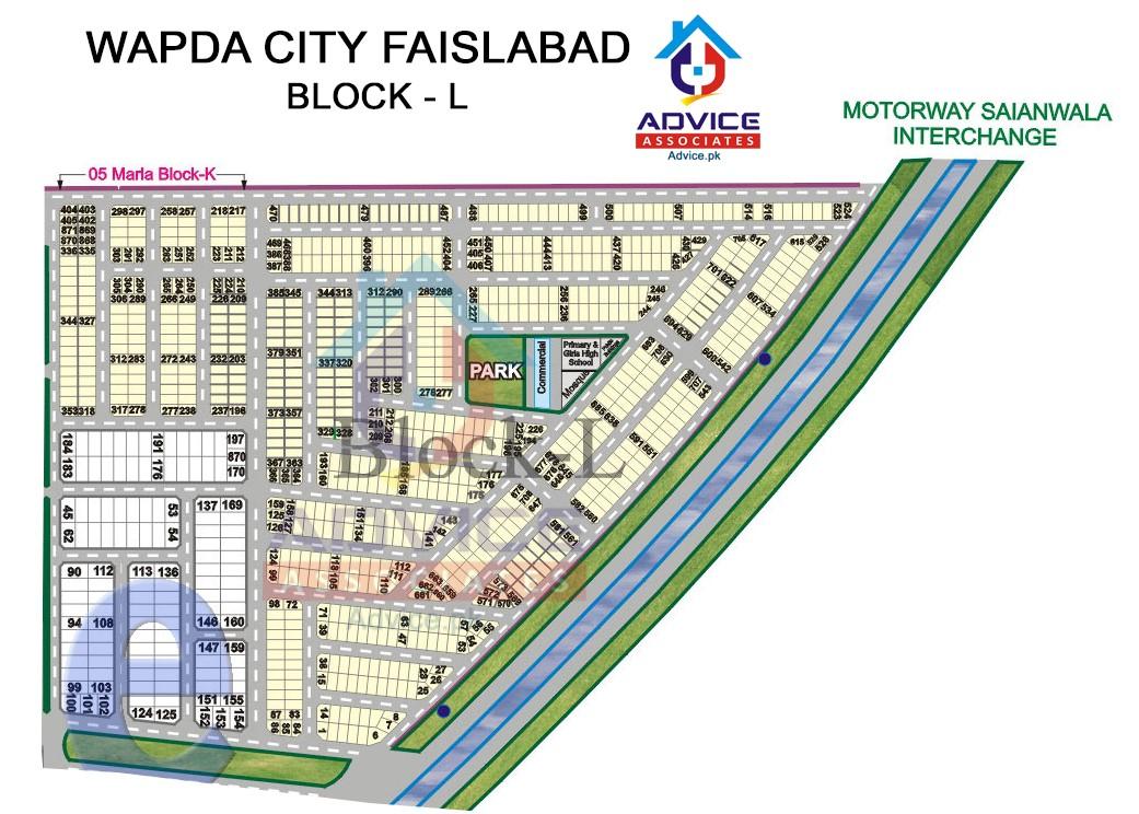 Wapda city Block L