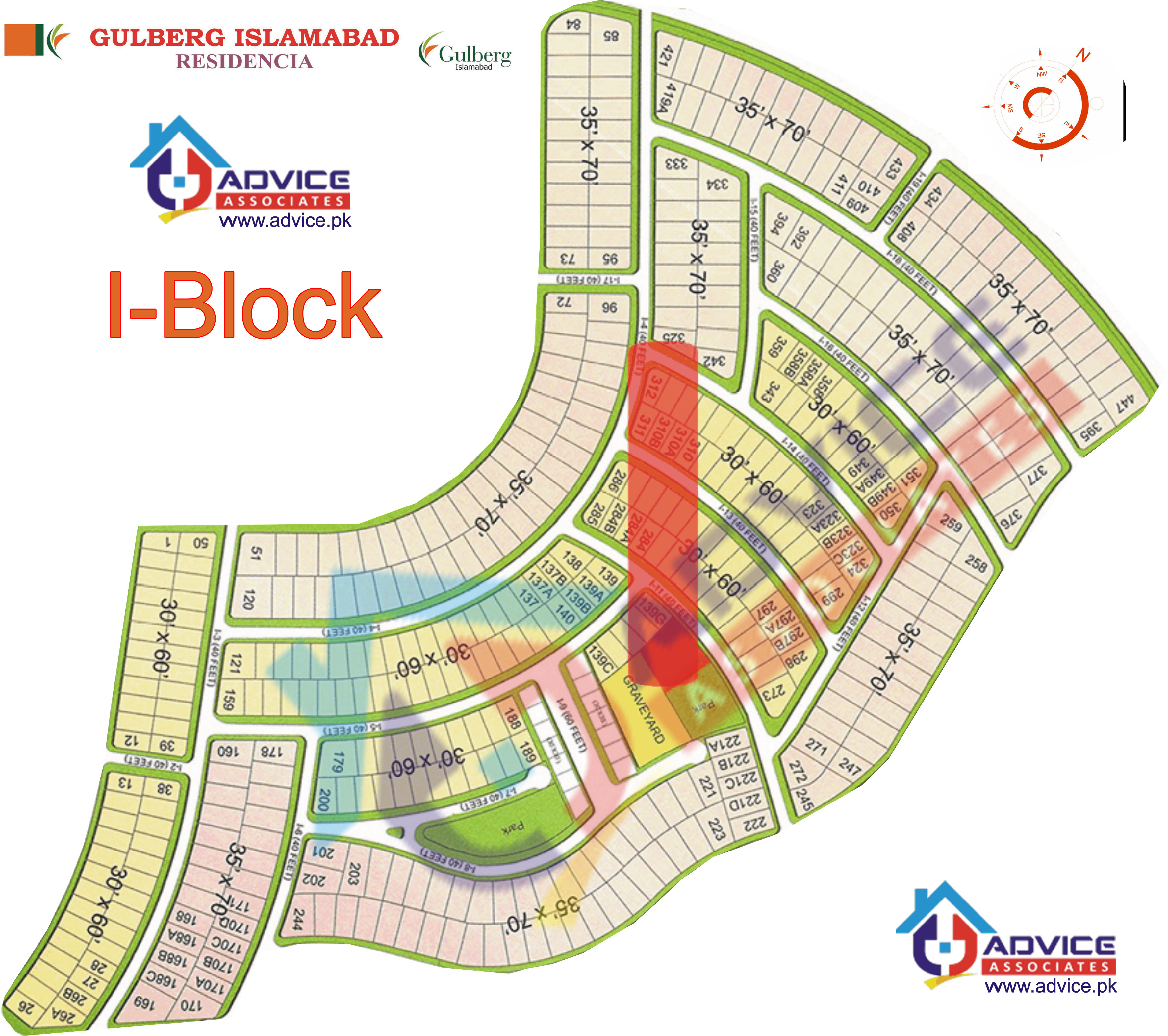 Gulberg Residentia Block I