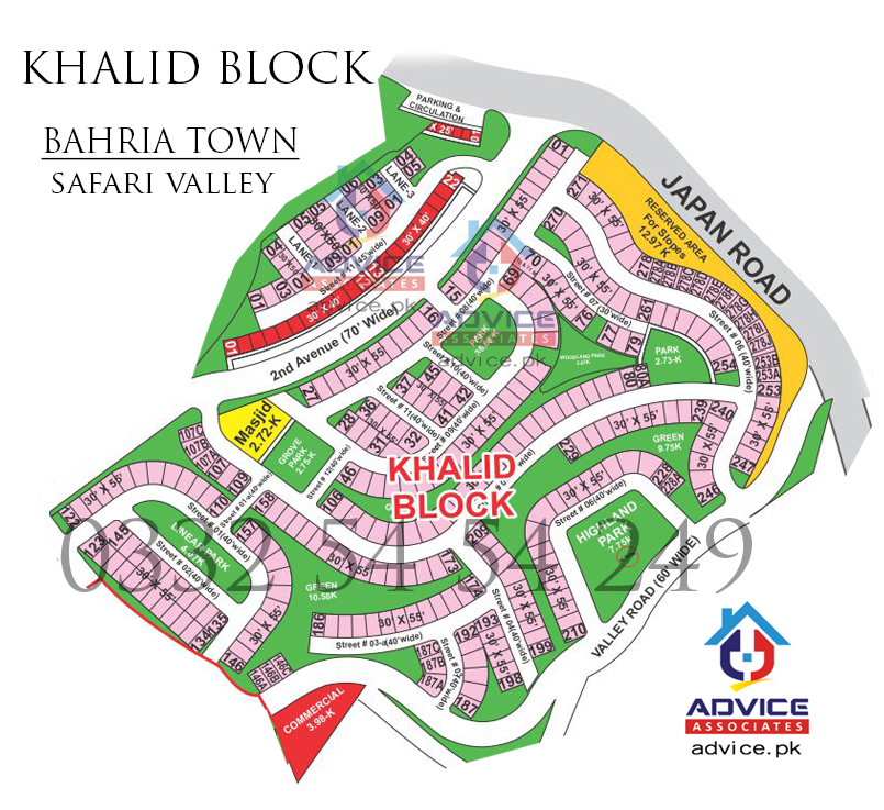 Khalid Block Safari Valley Map