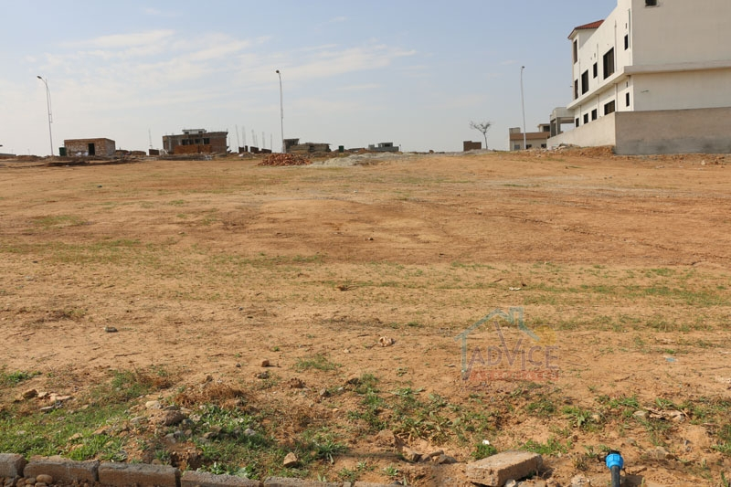 Bahria town 22 Marla plot For Sale Usman D Block